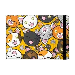 Cats Pattern Apple Ipad Mini Flip Case by Valentinaart