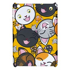 Cats Pattern Apple Ipad Mini Hardshell Case by Valentinaart