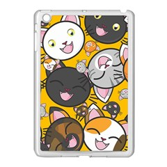 Cats Pattern Apple Ipad Mini Case (white) by Valentinaart