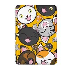 Cats Pattern Samsung Galaxy Tab 2 (10 1 ) P5100 Hardshell Case  by Valentinaart