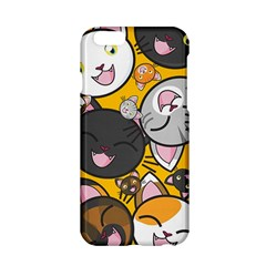 Cats Pattern Apple Iphone 6/6s Hardshell Case by Valentinaart