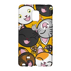 Cats Pattern Galaxy Note Edge by Valentinaart