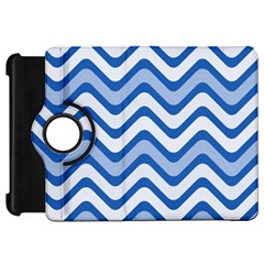 Waves Wavy Lines Pattern Design Kindle Fire Hd 7  by Amaryn4rt