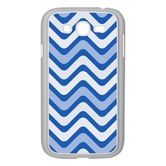 Waves Wavy Lines Pattern Design Samsung Galaxy Grand Duos I9082 Case (white) by Amaryn4rt