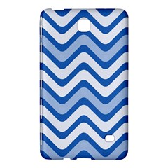 Waves Wavy Lines Pattern Design Samsung Galaxy Tab 4 (7 ) Hardshell Case