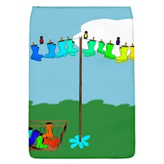 Welly Boot Rainbow Clothesline Flap Covers (s)  by Amaryn4rt