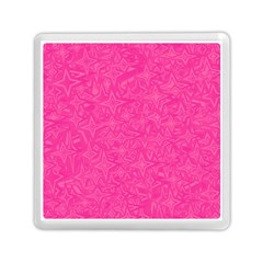 Geometric Pattern Wallpaper Pink Memory Card Reader (square)  by Amaryn4rt