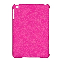Geometric Pattern Wallpaper Pink Apple Ipad Mini Hardshell Case (compatible With Smart Cover) by Amaryn4rt