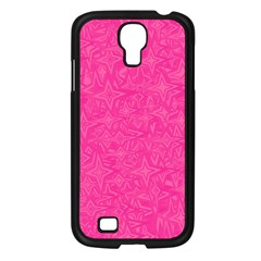 Geometric Pattern Wallpaper Pink Samsung Galaxy S4 I9500/ I9505 Case (black) by Amaryn4rt