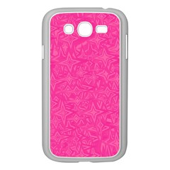 Geometric Pattern Wallpaper Pink Samsung Galaxy Grand Duos I9082 Case (white) by Amaryn4rt