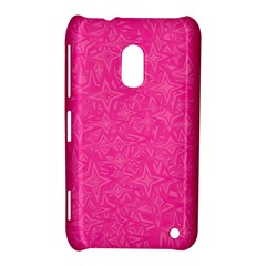 Geometric Pattern Wallpaper Pink Nokia Lumia 620 by Amaryn4rt
