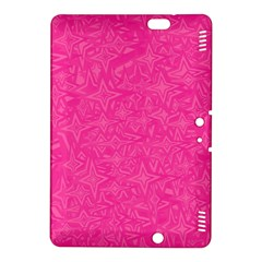 Geometric Pattern Wallpaper Pink Kindle Fire Hdx 8 9  Hardshell Case by Amaryn4rt