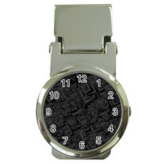 Black Rectangle Wallpaper Grey Money Clip Watches by Amaryn4rt