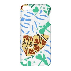 Broken Tile Texture Background Apple Ipod Touch 5 Hardshell Case by Amaryn4rt