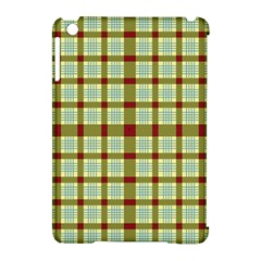 Geometric Tartan Pattern Square Apple Ipad Mini Hardshell Case (compatible With Smart Cover) by Amaryn4rt