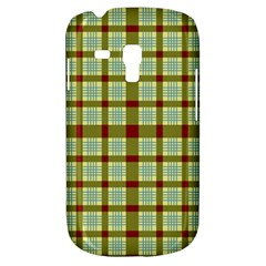 Geometric Tartan Pattern Square Galaxy S3 Mini by Amaryn4rt