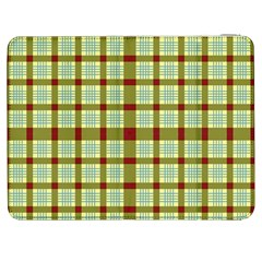Geometric Tartan Pattern Square Samsung Galaxy Tab 7  P1000 Flip Case by Amaryn4rt