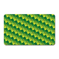 Dragon Scale Scales Pattern Magnet (rectangular) by Amaryn4rt
