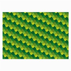 Dragon Scale Scales Pattern Large Glasses Cloth (2 Side) by Amaryn4rt