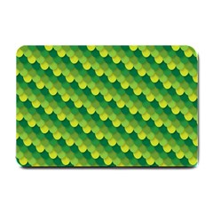 Dragon Scale Scales Pattern Small Doormat  by Amaryn4rt