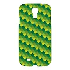 Dragon Scale Scales Pattern Samsung Galaxy S4 I9500/i9505 Hardshell Case by Amaryn4rt