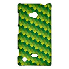 Dragon Scale Scales Pattern Nokia Lumia 720 by Amaryn4rt