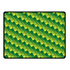 Dragon Scale Scales Pattern Double Sided Fleece Blanket (small)  by Amaryn4rt