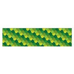 Dragon Scale Scales Pattern Satin Scarf (oblong) by Amaryn4rt