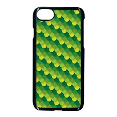 Dragon Scale Scales Pattern Apple Iphone 7 Seamless Case (black) by Amaryn4rt