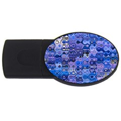 Background Texture Pattern Colorful Usb Flash Drive Oval (2 Gb) by Amaryn4rt