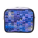 Background Texture Pattern Colorful Mini Toiletries Bags Front