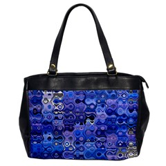 Background Texture Pattern Colorful Office Handbags by Amaryn4rt