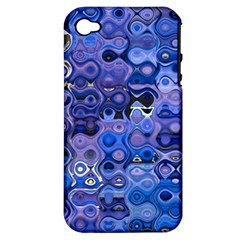Background Texture Pattern Colorful Apple Iphone 4/4s Hardshell Case (pc+silicone) by Amaryn4rt