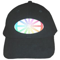 Polygon Evolution Wheel Geometry Black Cap by Amaryn4rt