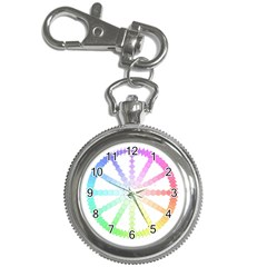 Polygon Evolution Wheel Geometry Key Chain Watches by Amaryn4rt