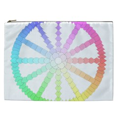 Polygon Evolution Wheel Geometry Cosmetic Bag (xxl)  by Amaryn4rt