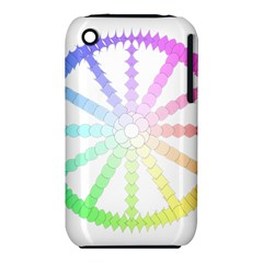 Polygon Evolution Wheel Geometry Iphone 3s/3gs by Amaryn4rt