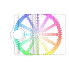 Polygon Evolution Wheel Geometry Kindle Fire Hd (2013) Flip 360 Case by Amaryn4rt