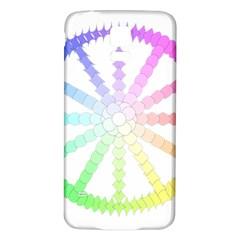 Polygon Evolution Wheel Geometry Samsung Galaxy S5 Back Case (white) by Amaryn4rt