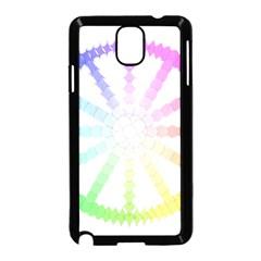 Polygon Evolution Wheel Geometry Samsung Galaxy Note 3 Neo Hardshell Case (black) by Amaryn4rt