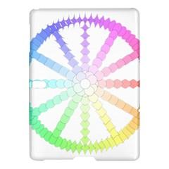 Polygon Evolution Wheel Geometry Samsung Galaxy Tab S (10 5 ) Hardshell Case  by Amaryn4rt