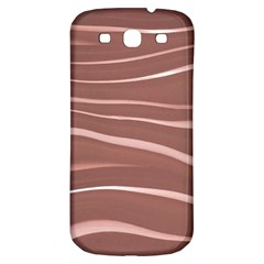 Lines Swinging Texture Background Samsung Galaxy S3 S Iii Classic Hardshell Back Case by Amaryn4rt