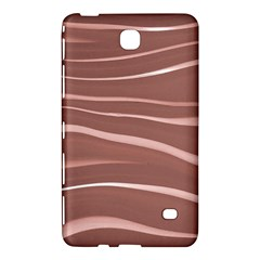 Lines Swinging Texture Background Samsung Galaxy Tab 4 (7 ) Hardshell Case  by Amaryn4rt