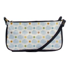 Baby Cloudy Star Cloud Rainbow Blue Sky Shoulder Clutch Bags by Alisyart