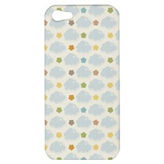 Baby Cloudy Star Cloud Rainbow Blue Sky Apple Iphone 5 Hardshell Case by Alisyart