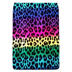 Cheetah Neon Rainbow Animal Flap Covers (l)  by Alisyart