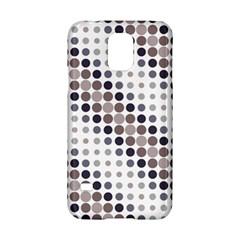 Circle Blue Grey Line Waves Black Samsung Galaxy S5 Hardshell Case  by Alisyart
