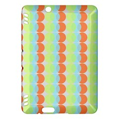 Circles Orange Blue Green Yellow Kindle Fire Hdx Hardshell Case by Alisyart