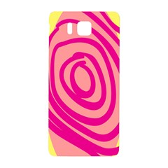 Doodle Shapes Large Line Circle Pink Red Yellow Samsung Galaxy Alpha Hardshell Back Case
