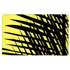Doodle Shapes Large Scratched Included Apple Ipad 2 Flip Case by Alisyart